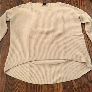 Theory off white sweater